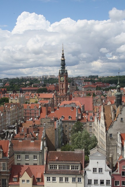 Gdansk poland sights, places monuments.