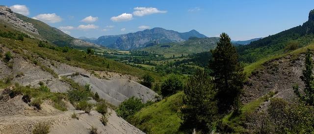 Gebirbe mountains france.