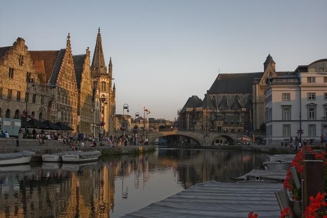Gent ghent belgium, architecture buildings.