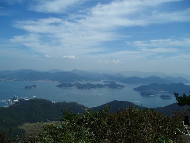 Geoje republic of korea coastal, nature landscapes.
