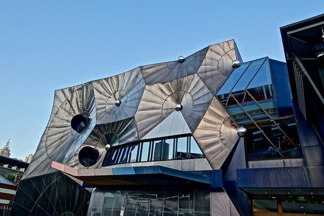 Geometric architecture building, architecture buildings.