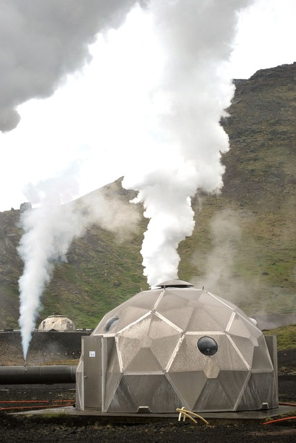 Geothermal central iceland.