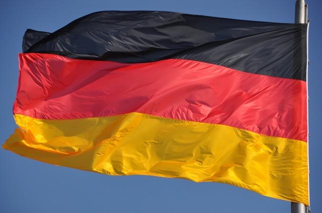 German flag germany.