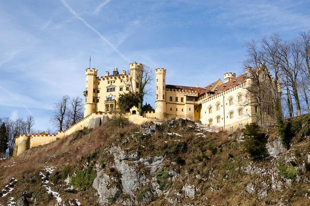 Germany bavaria castle, architecture buildings.