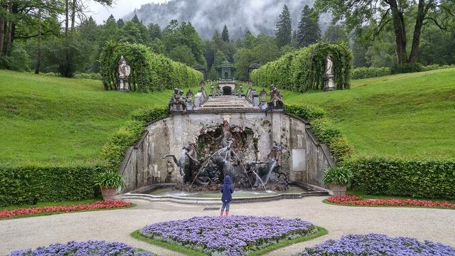 Germany bavaria king ludwig, travel vacation.
