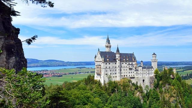Germany bavaria neuschwanstein castle.