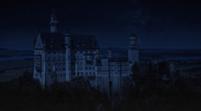 Germany castle lock, nature landscapes.