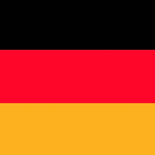 Germany em flag, sports.