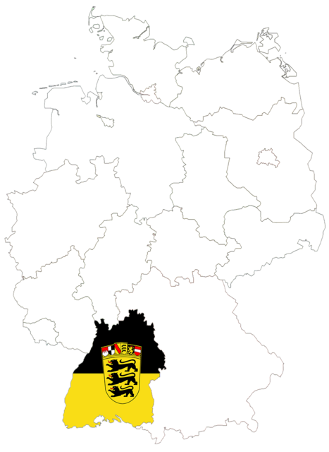 Germany germany map regions.