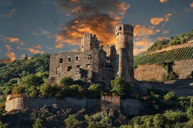Germany rhine castle.