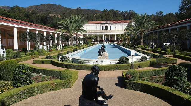 Getty villa malibu california.