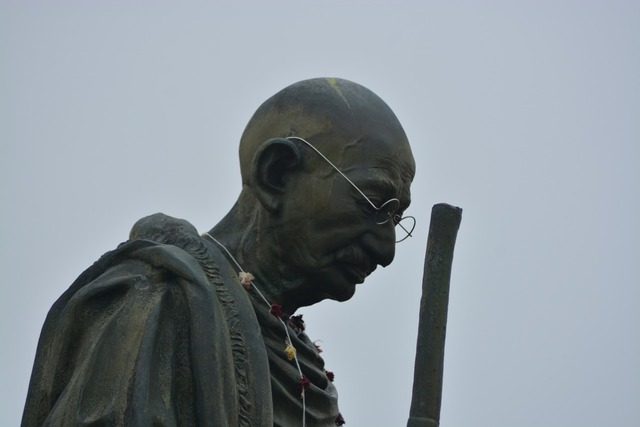 Ghandi statue indian, places monuments.