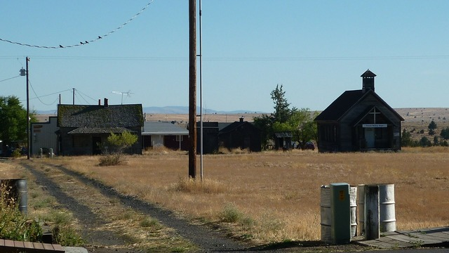 Ghost town shaniko oregon, places monuments.