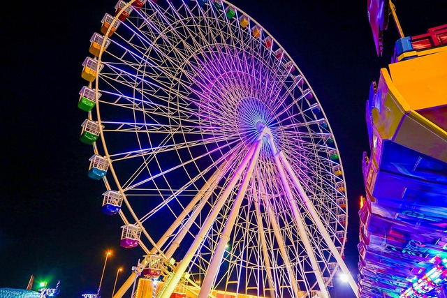 Giant wheel beautiful giant wheel global village.