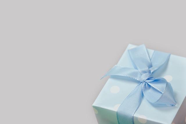 Gift package loop.