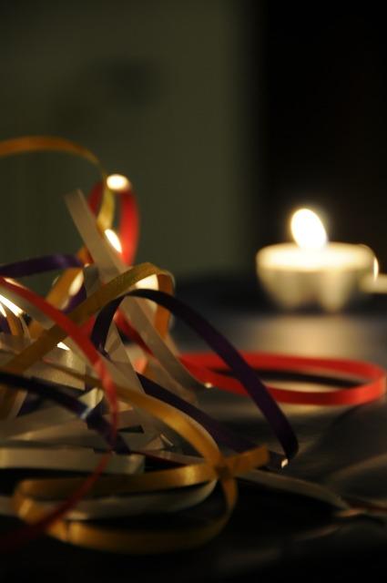 Gift packaging tealight.