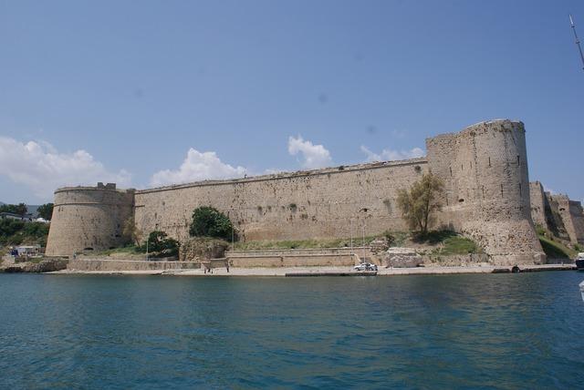 Girne castle marine.