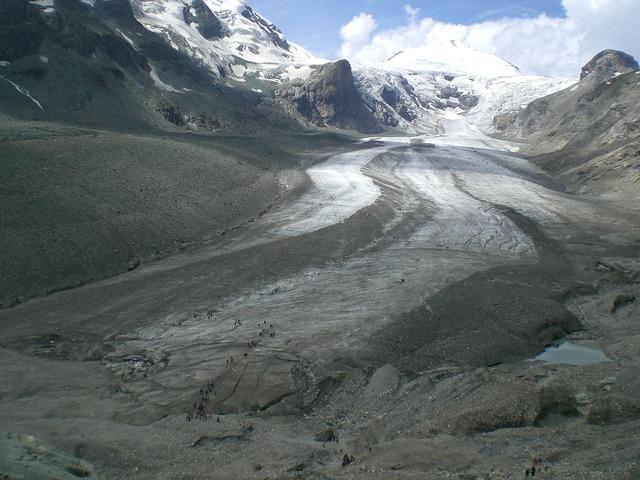 Glacier cold alpine.