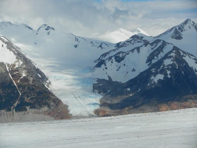 Glacier flock chile.