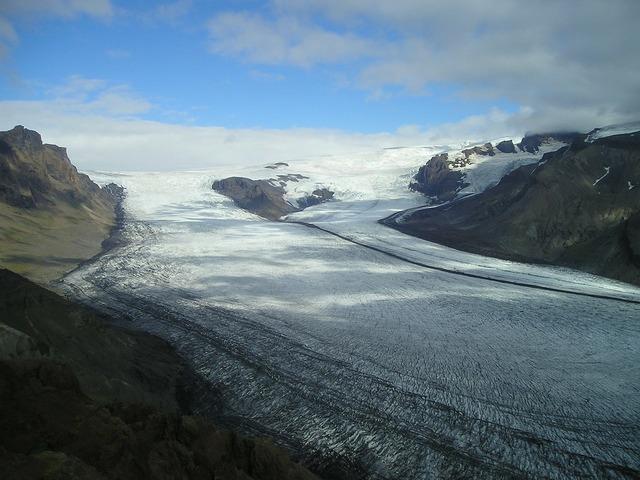 Glacier ice ice sheet.