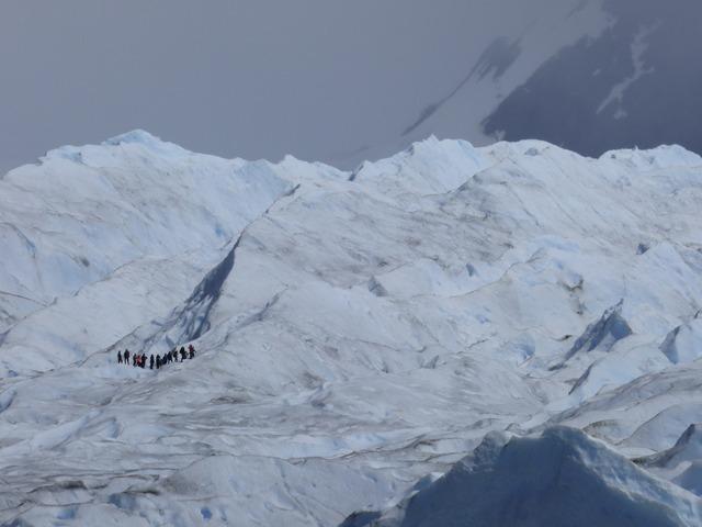 Glacier perito moreno snow, nature landscapes.