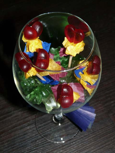 Glass candy sweetness.