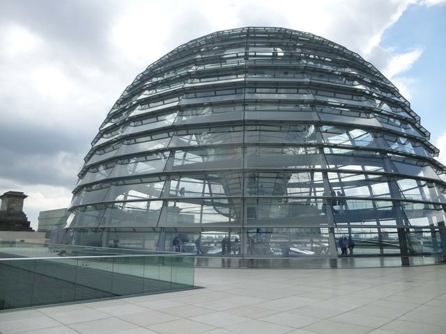 Glass dome bundestag reichstag, architecture buildings.