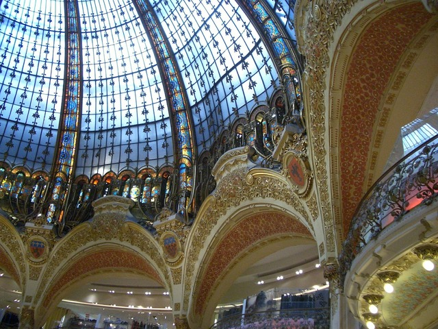 Glass dome gallery lafayette lafayette.