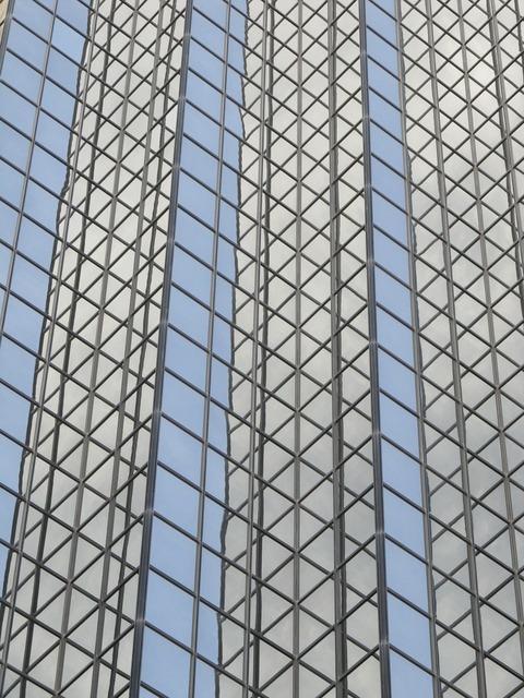 Glass facade office building dallas, architecture buildings.