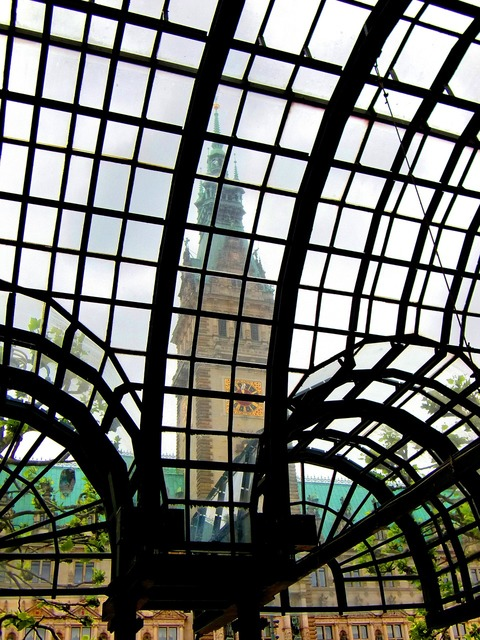 Glass glass window glass facade, architecture buildings.