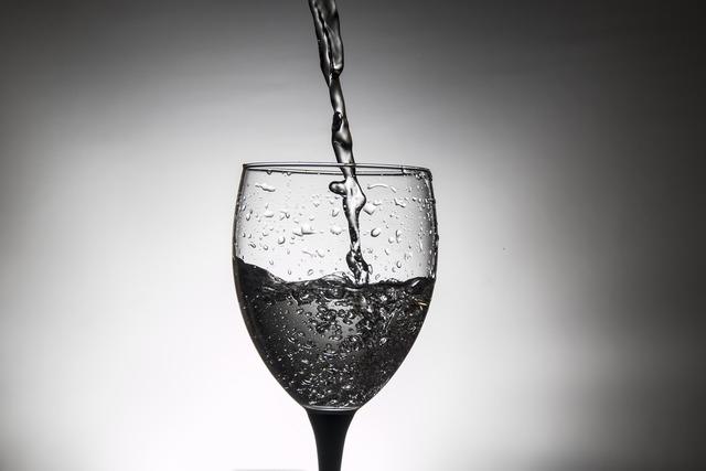 Glass wine pink, food drink.