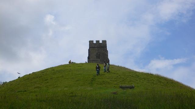 Glastonbury tower glastonbury tor england, places monuments.