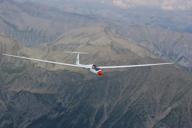 Glider pilot aircraft sport aircraft.