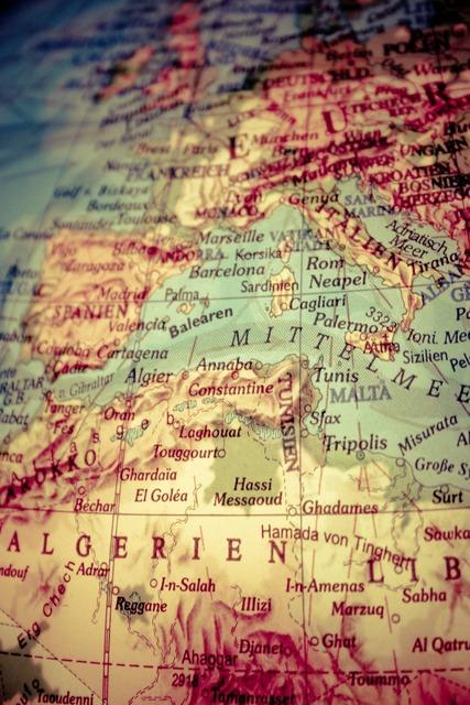 Globe africa europe.