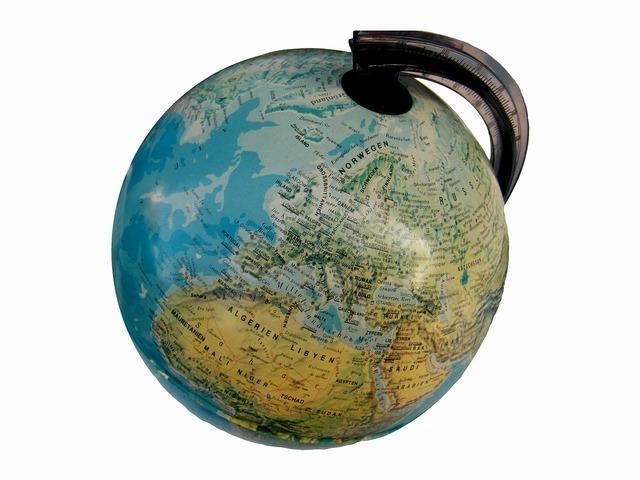 Globe earth world, education.