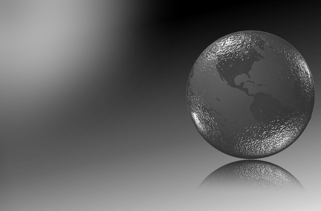 Globe glass ball crystal ball.