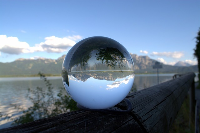 Globe image glass ball ball.