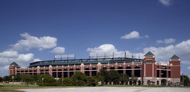 Globe life park baseball stadium texas rangers, architecture buildings.