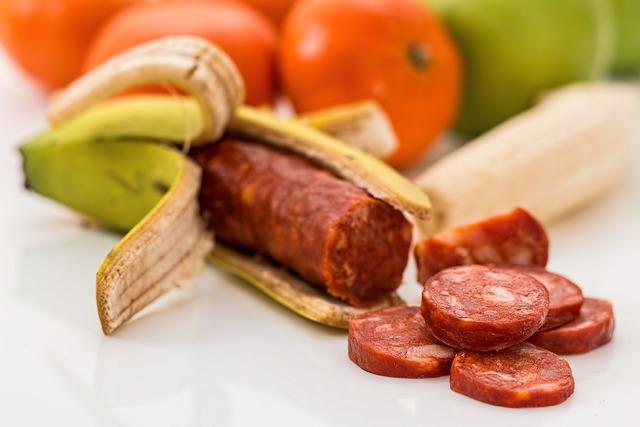 Gm food banana chourico, food drink.