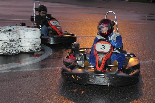 Go kart karting race.