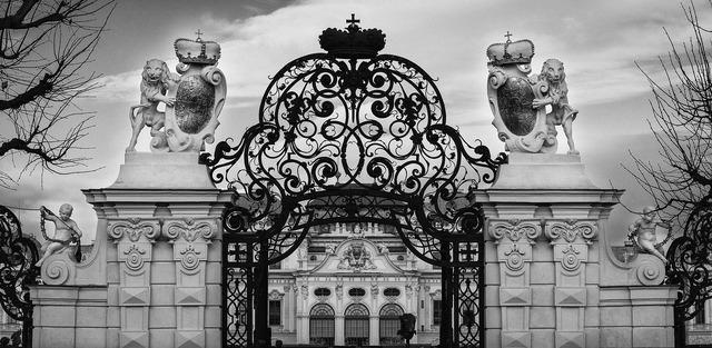 Goal baroque castle, architecture buildings.