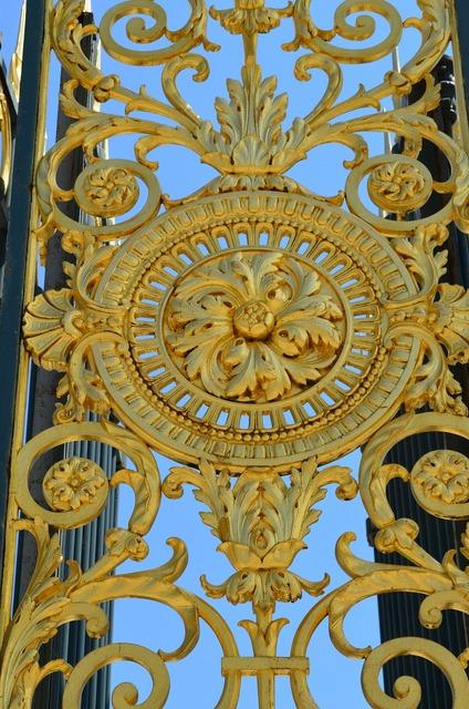 Goal gold ornament.