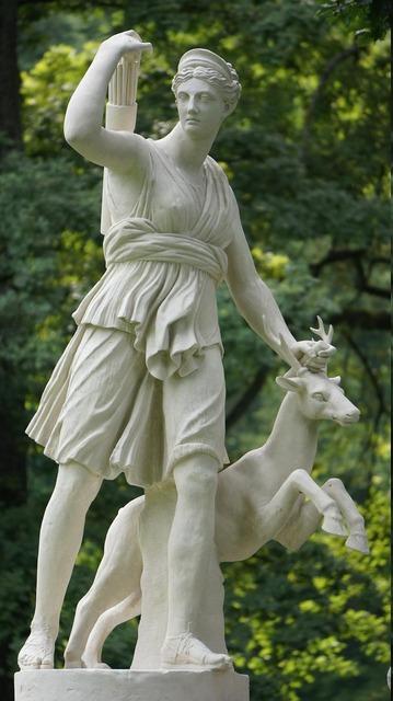 Goddess diana hunting, people.