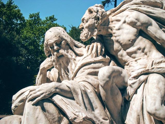 Goethe mephistopheles sculpture.