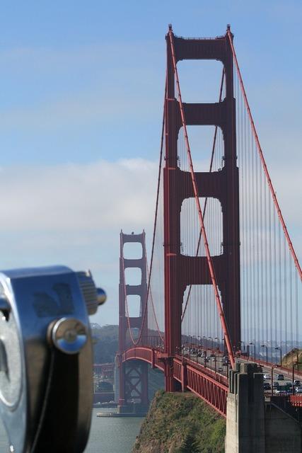 Golden gate bridge california san francisco.