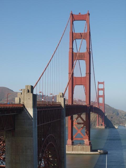 Golden gate bridge san francisco california.