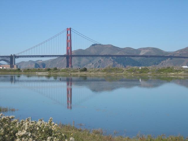 Golden gate bridge san francisco places of interest.