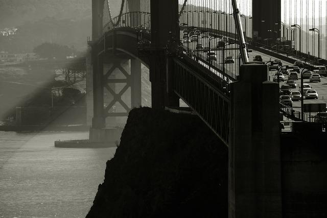Golden gate bridge suspension bridge bridge, places monuments.
