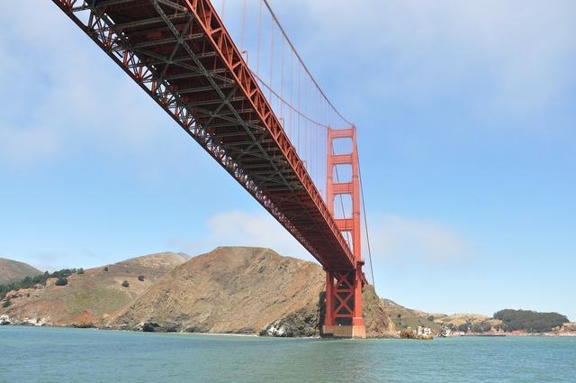 Golden gate bridge usa san.