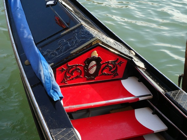 Gondola venice italy.